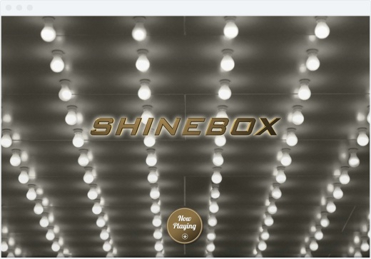 Shinebox - Splash Screen