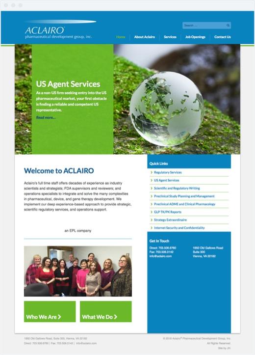 Aclairo - Home Page