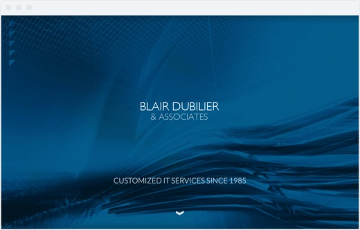 Blair Dubilier - intro screen