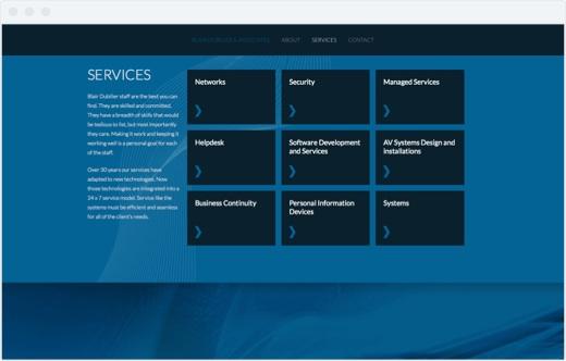Blair Dubilier - Services Section